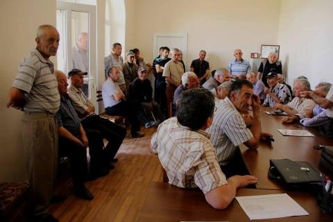 Կապուտան գյուղում դեմ են երկաթի հանքավայրի շահագործմանը | Տեսանյութ