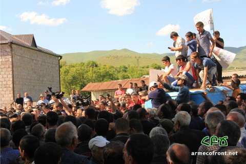 Unsustainable Projects in Armenia: Case of Kaghtsrashen Irrigation Project