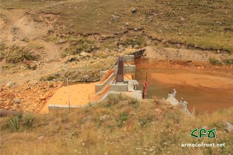 Գեղարոտ գետը ջրազրկած փոքր ՀԷԿ-երը պատժվեցին բնապահպանության նախարարության կողմից