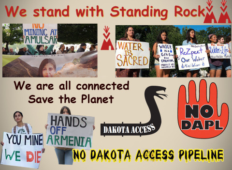 #NoDAPL Solidarity with Standing Rock