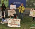 #NoDAPL Զորակցության ակցիա Ամերիկայի բնիկներին Հայաստանում ԱՄՆ դեսպանատան առաջ․ ՀԲՃ