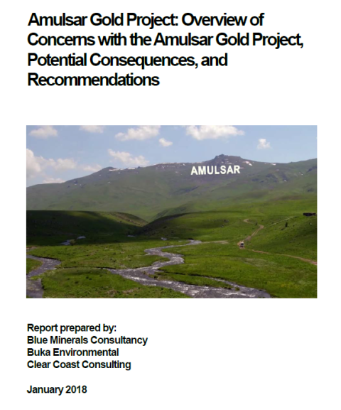 About gold mine project in Amulsar presented by Lydian International