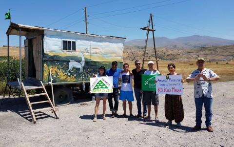 ՀԲՃ-ի և Ամուլսարի պահապանների զորակցության հայտարարությունը Մաունա Քեա լեռան պահապաններին