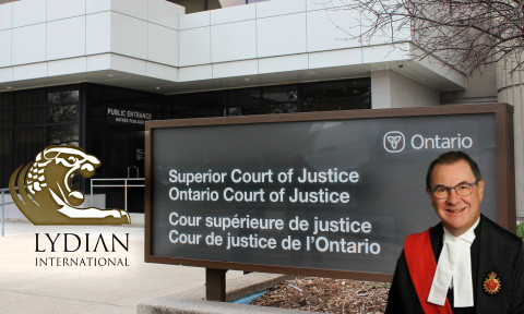 Ontario Superior Court informed about misleading information in mining company Lydian's affidavit